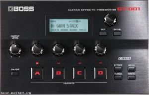Boss Gt-001 процесор за китара
