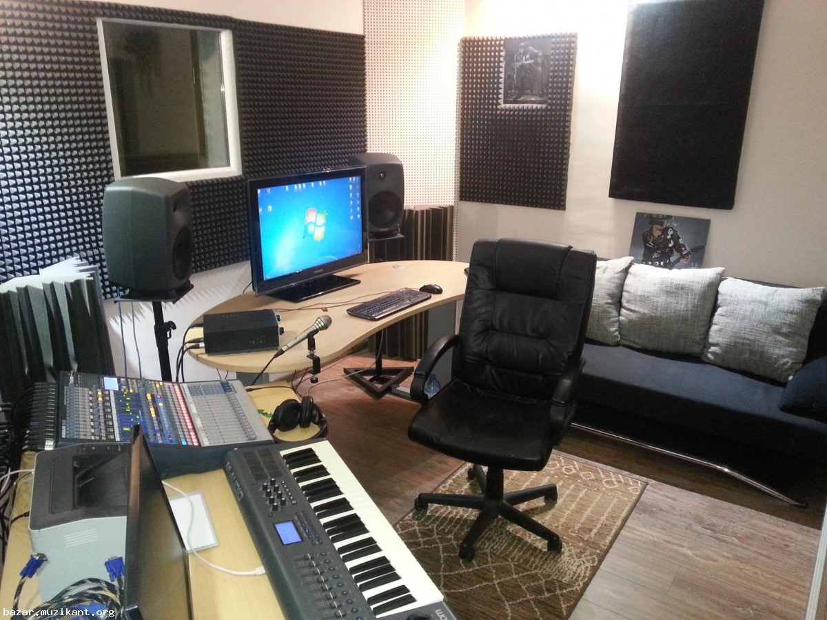 Sound City Studio - Звукозаписно студио! (София)
